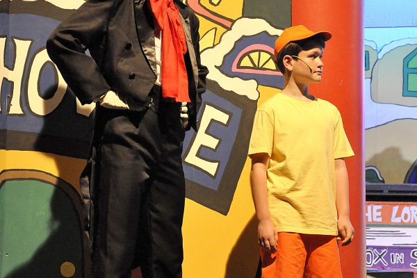 Seussical Frome Musical Theatre Company on stage