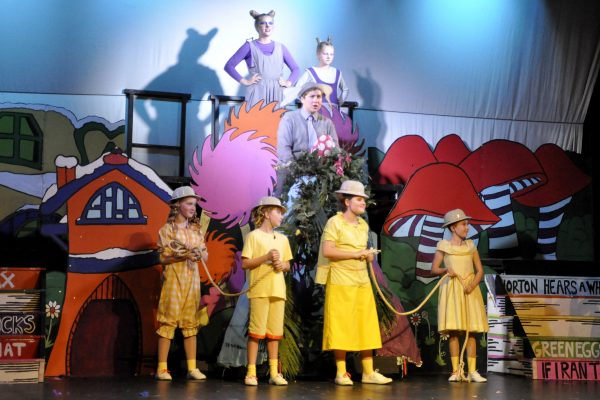 Seussical the Musical performed by Frome Musical Theatre Company