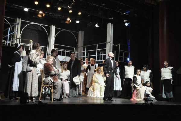 Cast of Titanic by Frome Musical Theatre Co