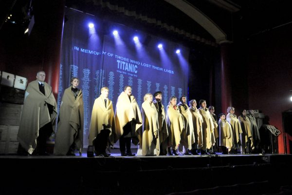 Stage production of Titanic by FMTC