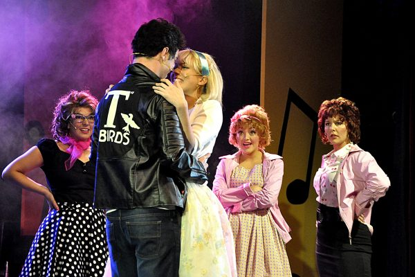 Sandy and Danny FMTC performs Grease