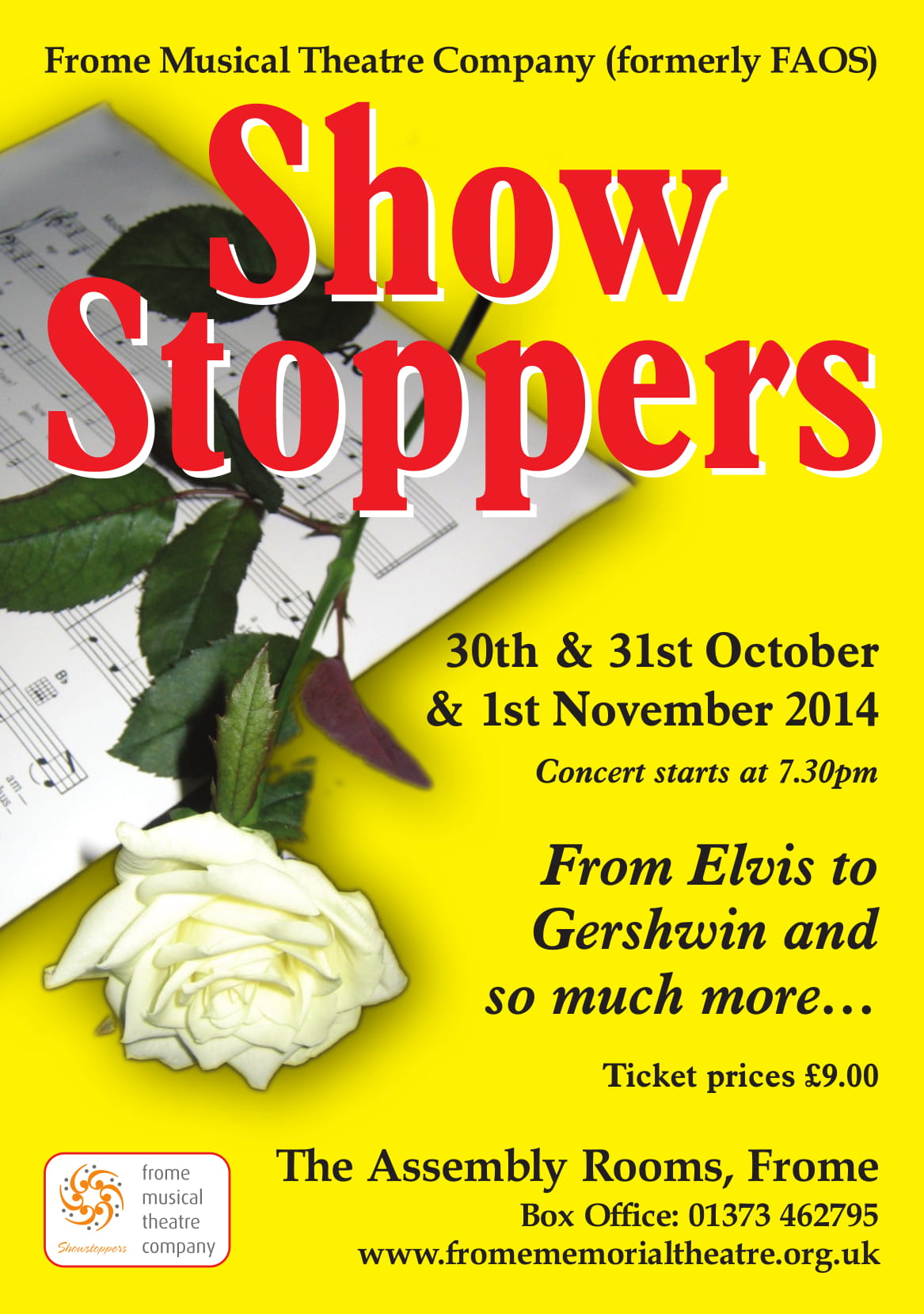 Show Stoppers concert 2014