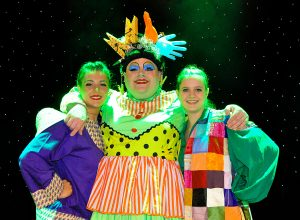 widow twankey aladdin pantomime frome musical theatre